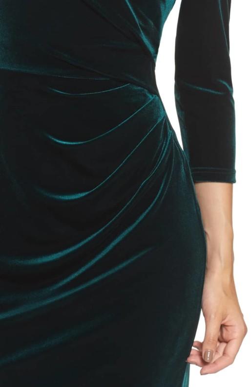 ELIZA J Velvet Sheath Multi Dress 4