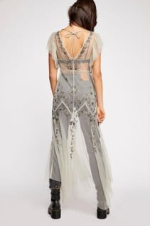 FREEPEOPLE Annabelle Embroidered Maxi Willow Slip 3