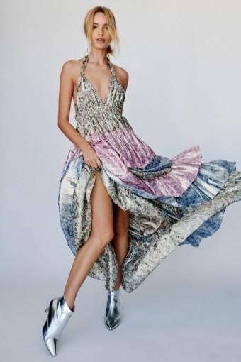 FREEPEOPLE Clarissa Multicolored Dress