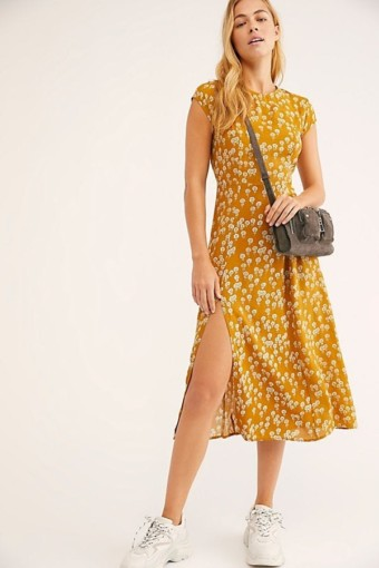 FREEPEOPLE Corrie Marigold Dress