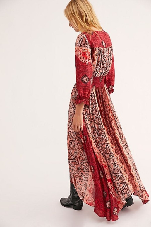 FREEPEOPLE Mexicali Rose Maxi Dress 3