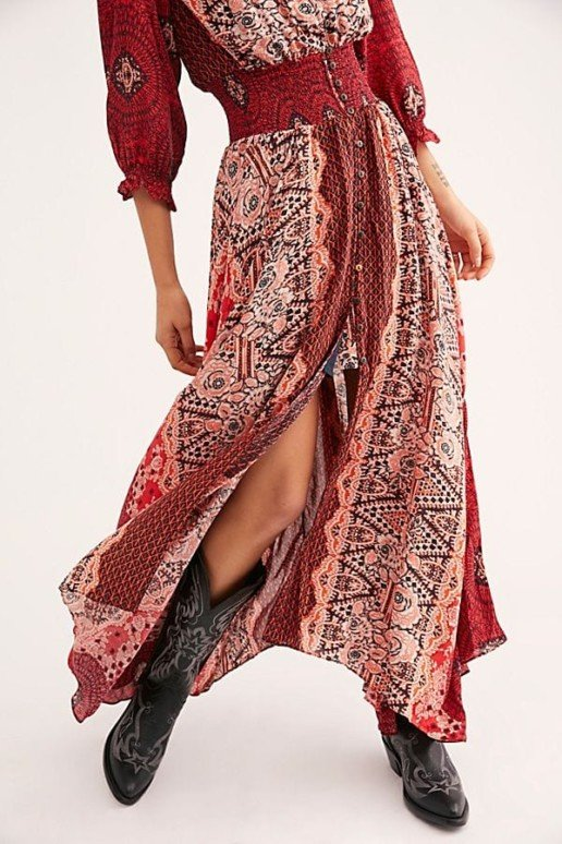 FREEPEOPLE Mexicali Rose Maxi Dress 4