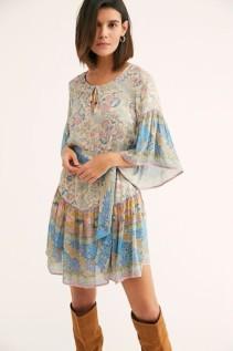 FREEPEOPLE Oasis Mini Multi Dress 3