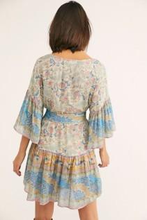 FREEPEOPLE Oasis Mini Multi Dress 4