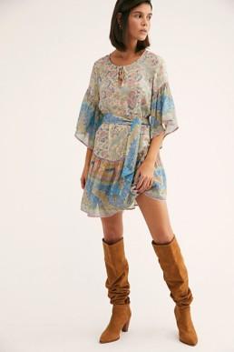 FREEPEOPLE Oasis Mini Multi Dress