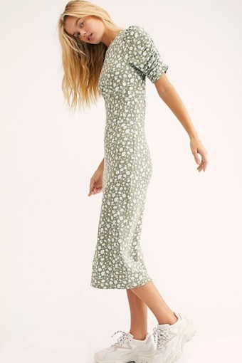 FREEPEOPLE Rosie Knit Midi Multi Dress 2