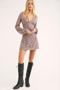 FREEPEOPLE Selin Mini Multi Combo Dress