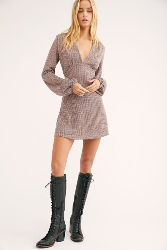 FREEPEOPLE Selin Mini Multi Combo Dress