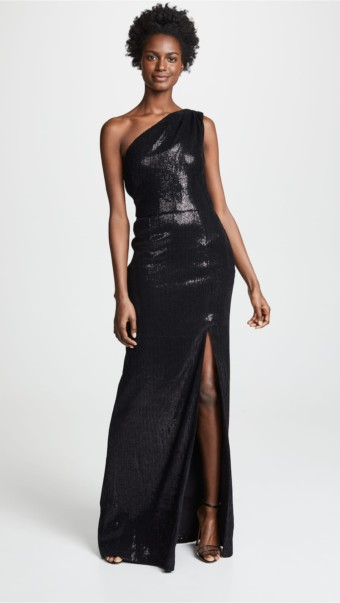 HANEY Zane Black Gown