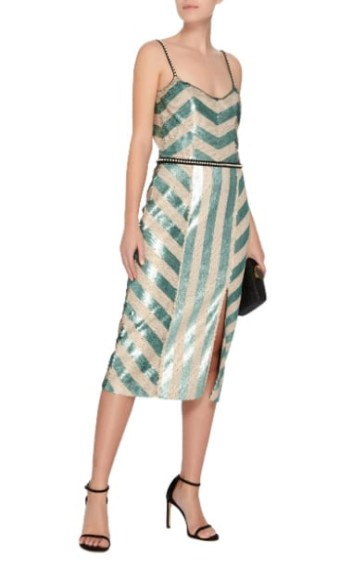 JOHANNA-ORTIZ-M'O-Exclusive-Salon-De-Paris-Sequin-Ivory-Dress