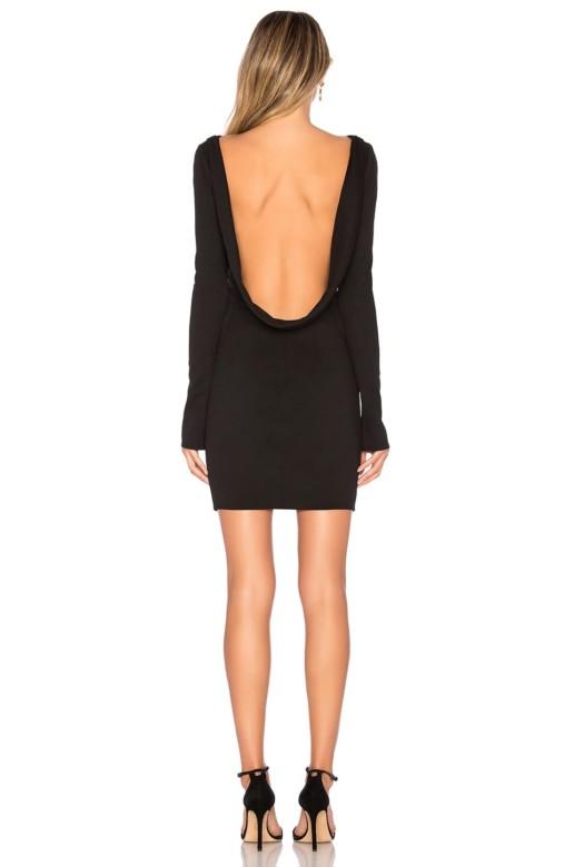 KATIE MAY Glisten Black Dress 3