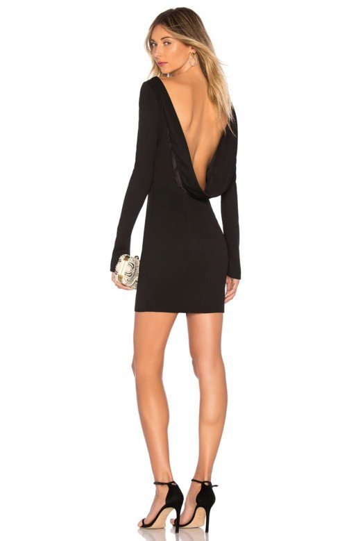 KATIE MAY Glisten Black Dress 4