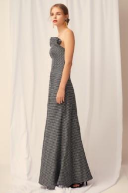 KEEPSAKE Eclipse Black Check Gown 3