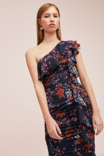 KEEPSAKE Need You Now Navy Floral Gown 2