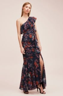 KEEPSAKE Need You Now Navy Floral Gown 3