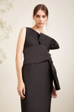 KEEPSAKE Retrograde Black Gown 2