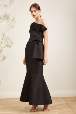 KEEPSAKE Retrograde Black Gown