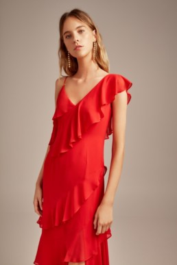KEEPSAKE Run Free Red Gown 2