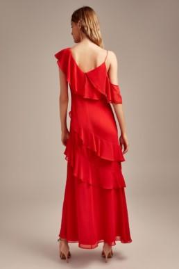 KEEPSAKE Run Free Red Gown 5