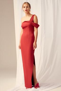 KEEPSAKE Shooting Star Red Gown 2