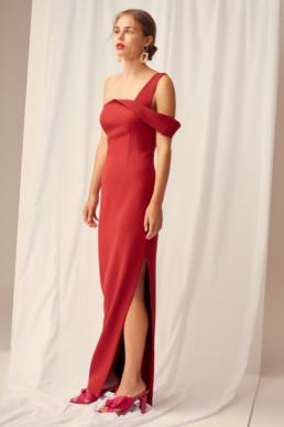 KEEPSAKE Shooting Star Red Gown 4