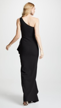 LIKELY Marielle Black Gown 2