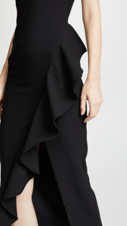 LIKELY Marielle Black Gown 4