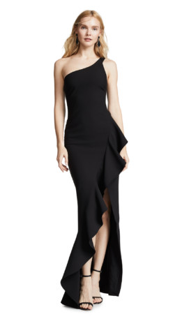 LIKELY Marielle Black Gown 5