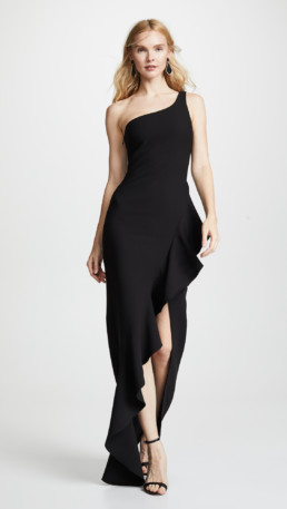 LIKELY Marielle Black Gown