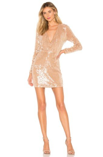 MAJORELLE Claudina Mini Blush Dress