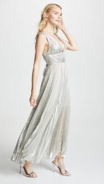 MARIA LUCIA HOHAN Riley Silver Dress 3