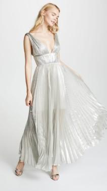 MARIA LUCIA HOHAN Riley Silver Dress 4