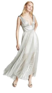 MARIA LUCIA HOHAN Riley Silver Dress 6