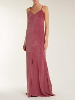 MAX MARA Caladio Pink gown