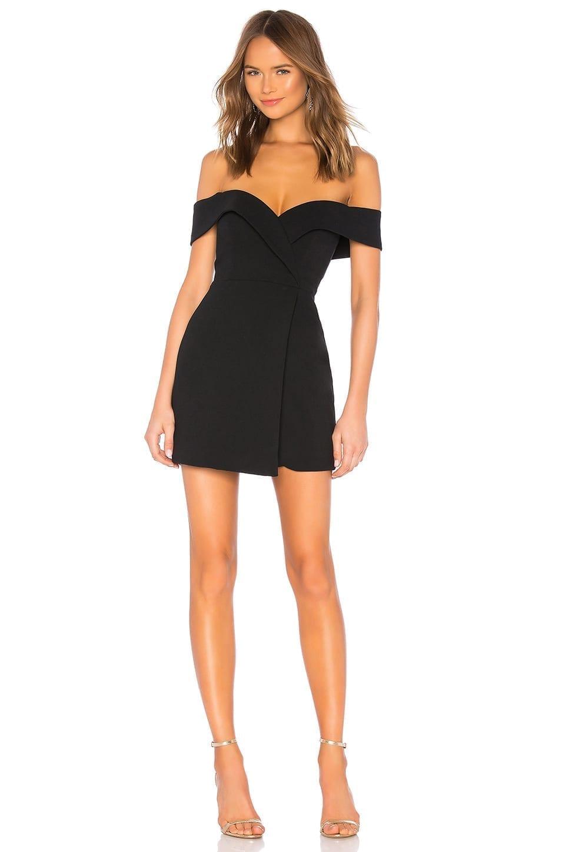 NBD Ferreira Mini Black Dress