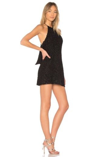 NBD Flora Black Dress 3
