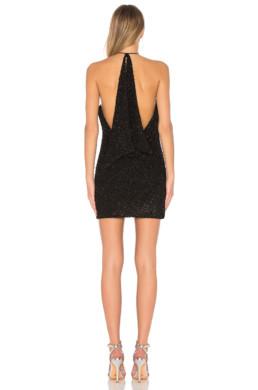 NBD Flora Black Dress 4