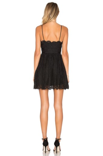NBD Give It Up Black Dress 3