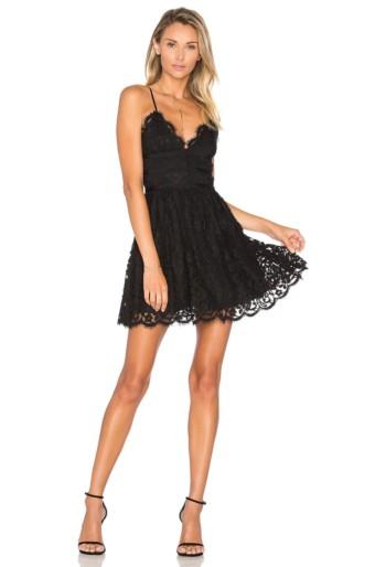 NBD Give It Up Black Dress