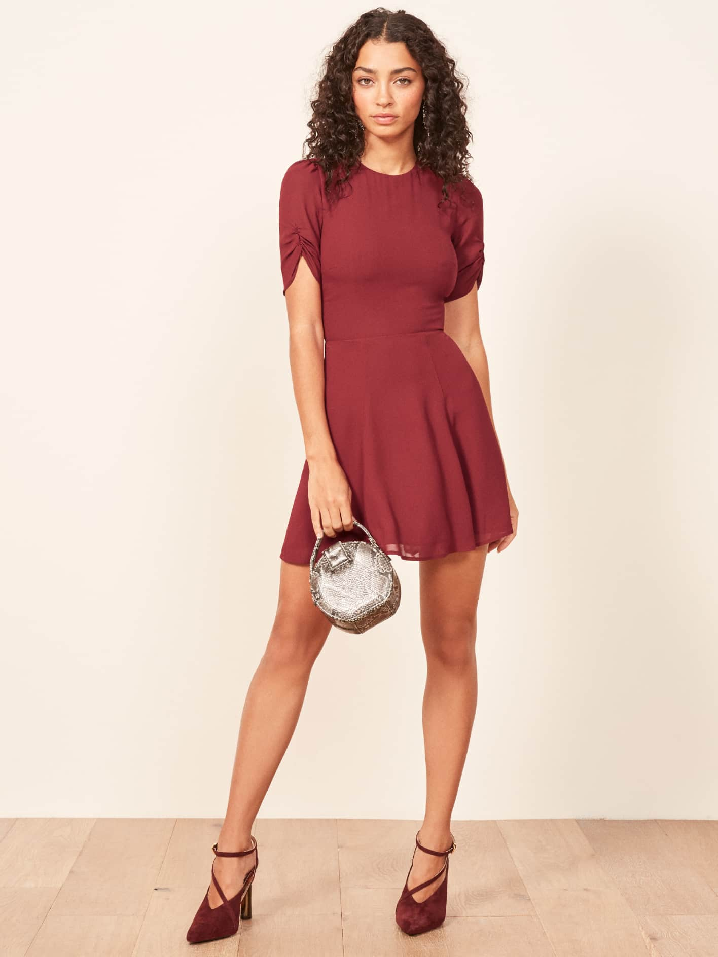 Reformation Gracie Red Dress