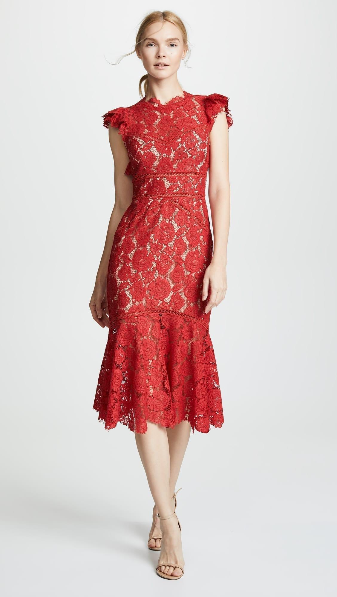 SAYLOR Maude Red Dress