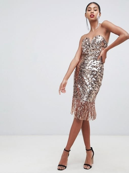 TFNC-Sequin-Bandeau-Midi-Rose-Gold-Dress-With-Fringe-Hem