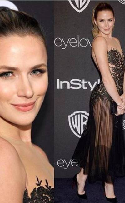 Perfect A Playful Yet Sophisticated Style In Shantel VanSanten Dresses