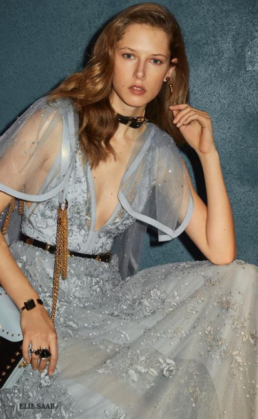 Welcome The Chill In Icy Blue Dresses