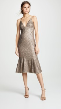 ZAC POSEN Zac Zac Posen Robin Gold Dress