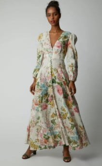 ZIMMERMANN-Heathers-Floral-Linen-Maxi-Floral-Dress