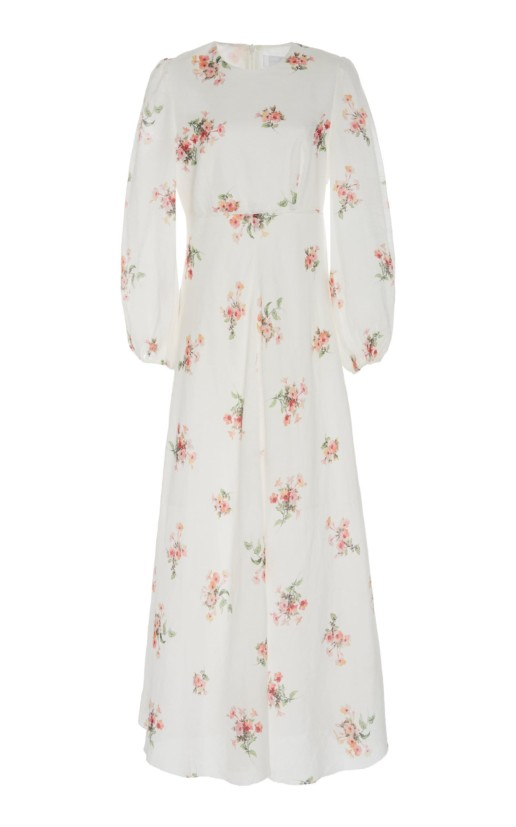 ZIMMERMANN Heathers Floral-Print Voile Floral Maxi-Dress 2