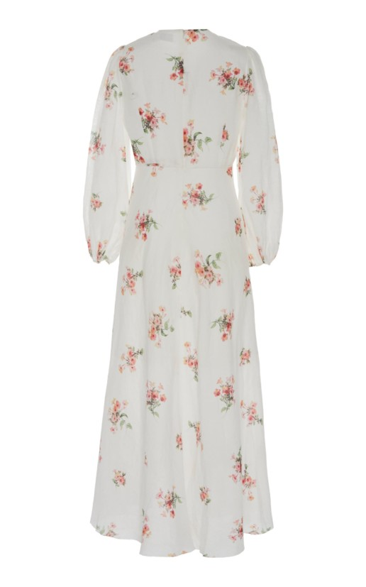 ZIMMERMANN Heathers Floral-Print Voile Floral Maxi-Dress 3