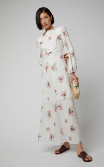 ZIMMERMANN Heathers Floral-Print Voile Floral Maxi-Dress