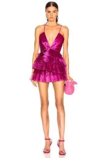 ALICE MCCALL Don't Be Shy Fuchsia Dress